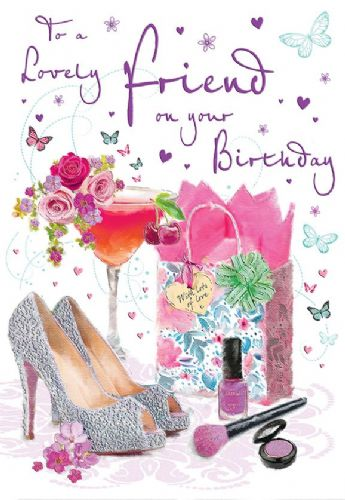 To A Lovely Friend On Your Birthday